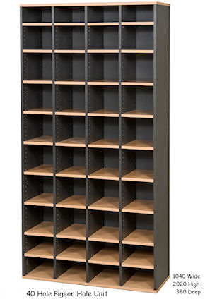 Adjustable Pigeon Hole Units Specfurn Commercial Office