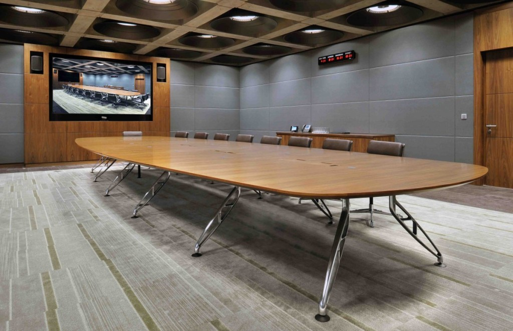 Trapeze Multi Leg Boardroom Table Specfurn Commercial