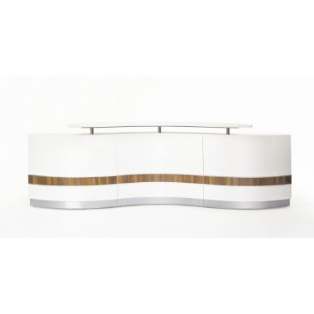 Specfurn Commercial Furniture Reception Counter Wave